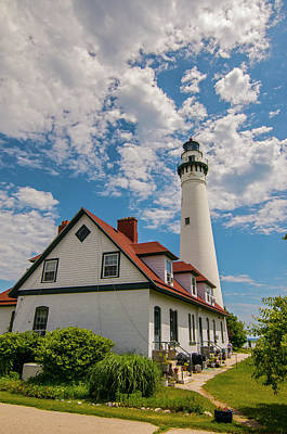 Wind Point Lighthouse No. 2 Poster