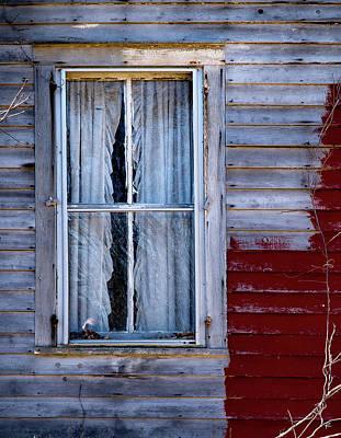 Window In Marlboro Poster