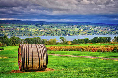 Poster featuring the photograph Wine Country - Finger Lakes, New York by Lynn Bauer