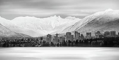 Winterscape Vancouver Poster