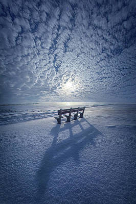Poster featuring the photograph Within The Absence Are The Memories by Phil Koch