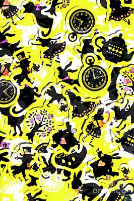Wonderland Design Poster