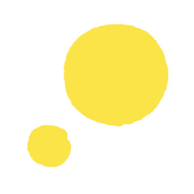Yellow Dots Poster