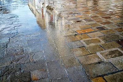 Zattere Reflections, Venice Poster