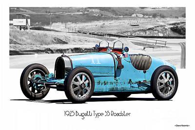 Bugatti Type 35B POSTER PRINT A1 size
