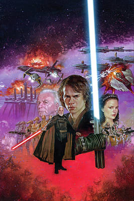 Revenge Of The Sith Posters Fine Art America