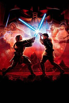 Star Wars Episode Posters Fine Art America