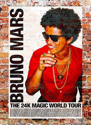BRUNO MARS PHOTO POSTER 8x10//11x17//13x19 002