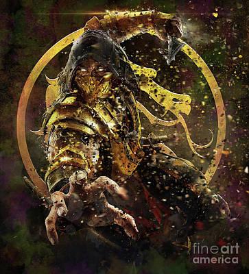 mortal kombat scorpions revenge poster