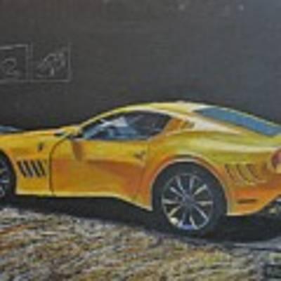 Ferrari Sp 275 Rw Competizione Poster by Richard Le Page
