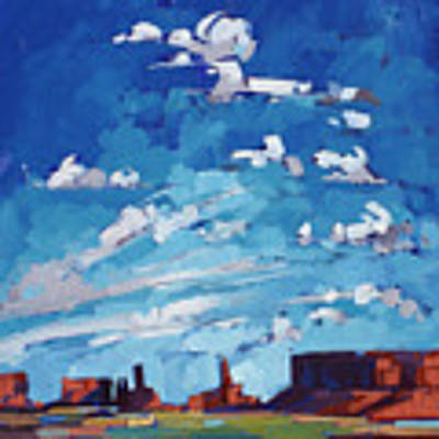 Monument Sky Poster by Erin Hanson