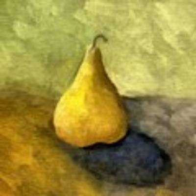 Pear Still Life Poster by Michelle Calkins