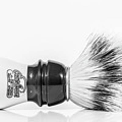 Shaving Brush Poster by Gary Gillette