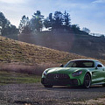 #mercedes #amg #gtr #print Poster by ItzKirb Photography