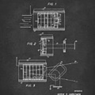1969 Short Wave Electromagnetic Radiation Patent Gray Poster by Nikki Marie Smith