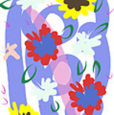 Abstract Garden #1 Poster by Bee-Bee Deigner