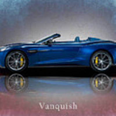 Aston Martin Vanquish Volante Poster