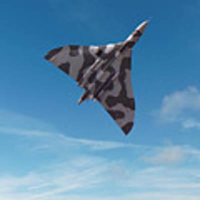 Avro Vulcan -1 Poster by Paul Gulliver