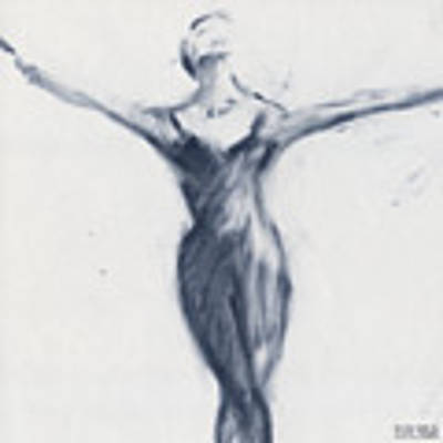 Ballet Sketch Open Arms Poster by Beverly Brown