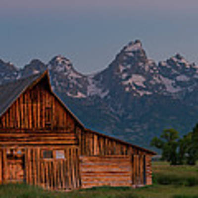 Barn On Mormon Row Poster by Gary Lengyel