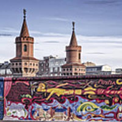 Berlin Wall Poster by Juergen Held