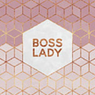 Boss Lady Poster by Elisabeth Fredriksson
