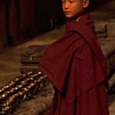 Boy Buddhist In Bodh Gaya Poster by Travel Pics