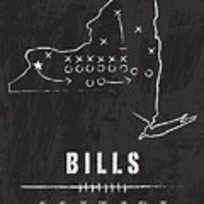Buffalo Bills / Nfl Football Art / Orchard Park New York Poster by Damon Gray