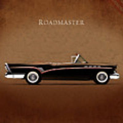 Buick Roadmaster 1957 Poster