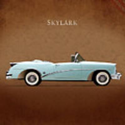 Buick Skylark 1954 Poster