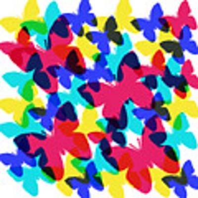 Butterflies Poster by Bee-Bee Deigner