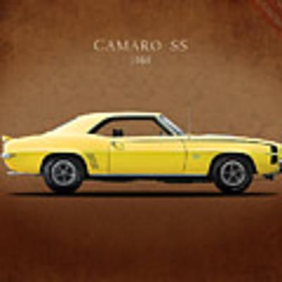 Camaro Ss 396 Poster
