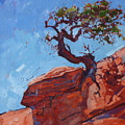 Canyonlands Pine Poster by Erin Hanson