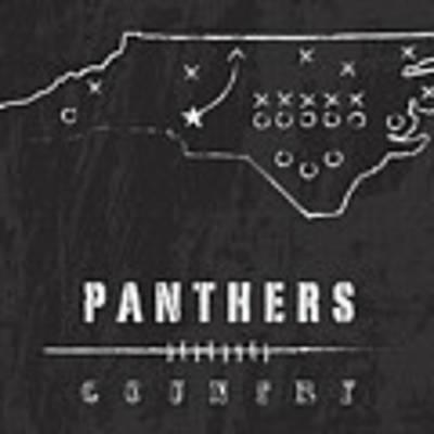 Carolina Panthers Art - Nfl Football Wall Print Poster