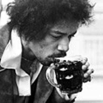 Jimi Hendrix Cheers 1969 Poster