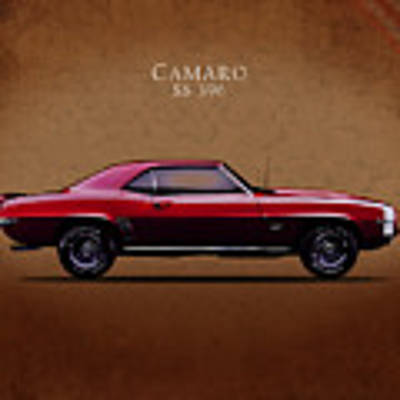 Chevrolet Camaro Ss 396 Poster