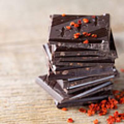 Chocolate And Chili Poster