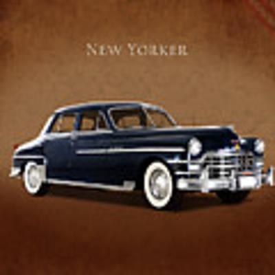 Chrysler New Yorker 1949 Poster