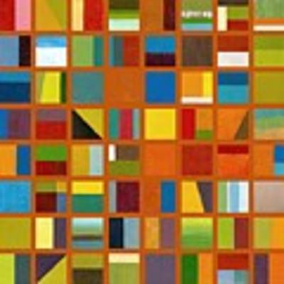 Color Study Collage 66 Poster