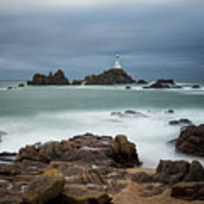Corbiere Lighthouse Poster by James Billings