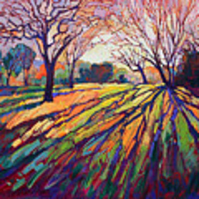 Crystal Light Poster by Erin Hanson
