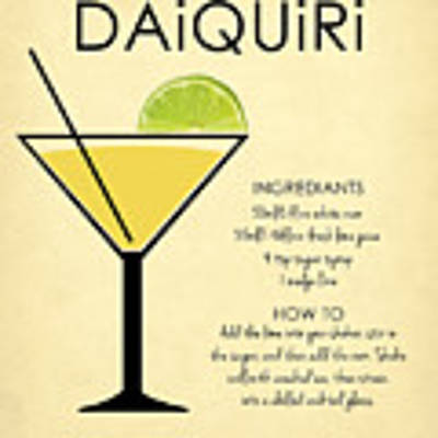 Daiquiri Poster