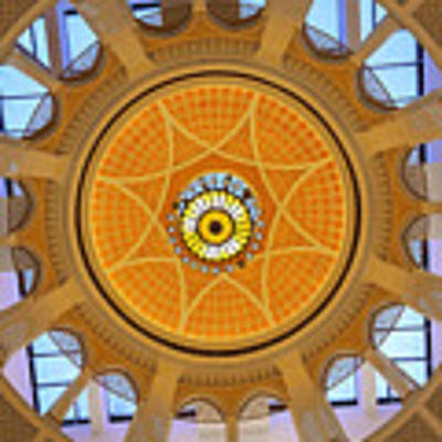 Dubai Mall Dome  Poster by Juergen Held