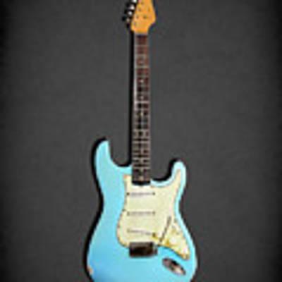 Fender Stratocaster 64 Poster by Mark Rogan