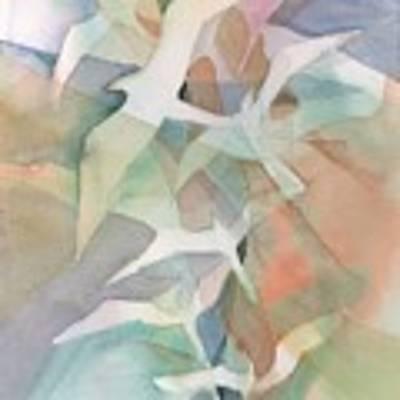 Flight Pattern Poster by Carolyn Utigard Thomas