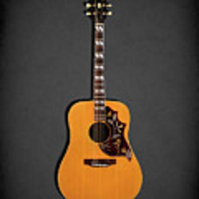 Gibson Hummingbird 1968 Poster by Mark Rogan