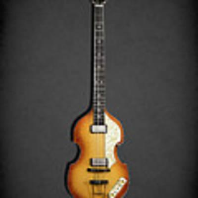 Hofner Violin Bass 62 Poster by Mark Rogan
