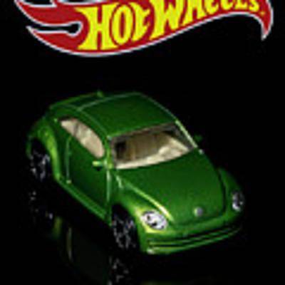 Hot Wheels 2012 Volkswagen Beetle Poster by James Sage