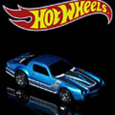 Hot Wheels 67 Pontiac Firebird 400-3 Poster by James Sage