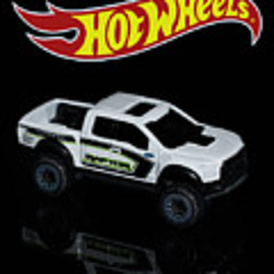 Hot Wheels Ford F-150 Raptor Poster by James Sage